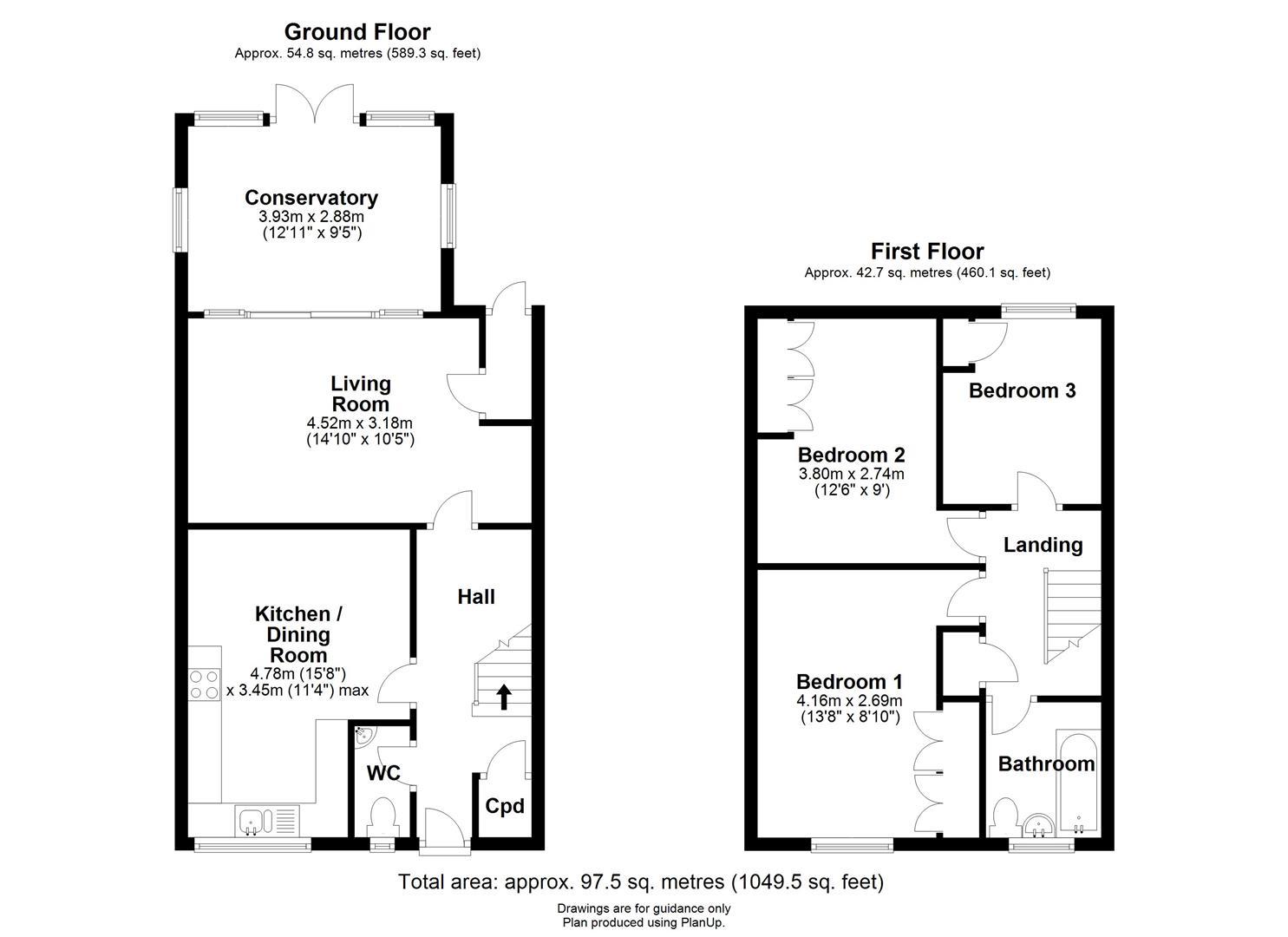 Floor plan Cody Road, Waterbeach, Cambridge